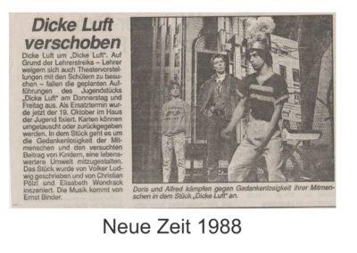 Dicke Luft 1988 Zeitung
