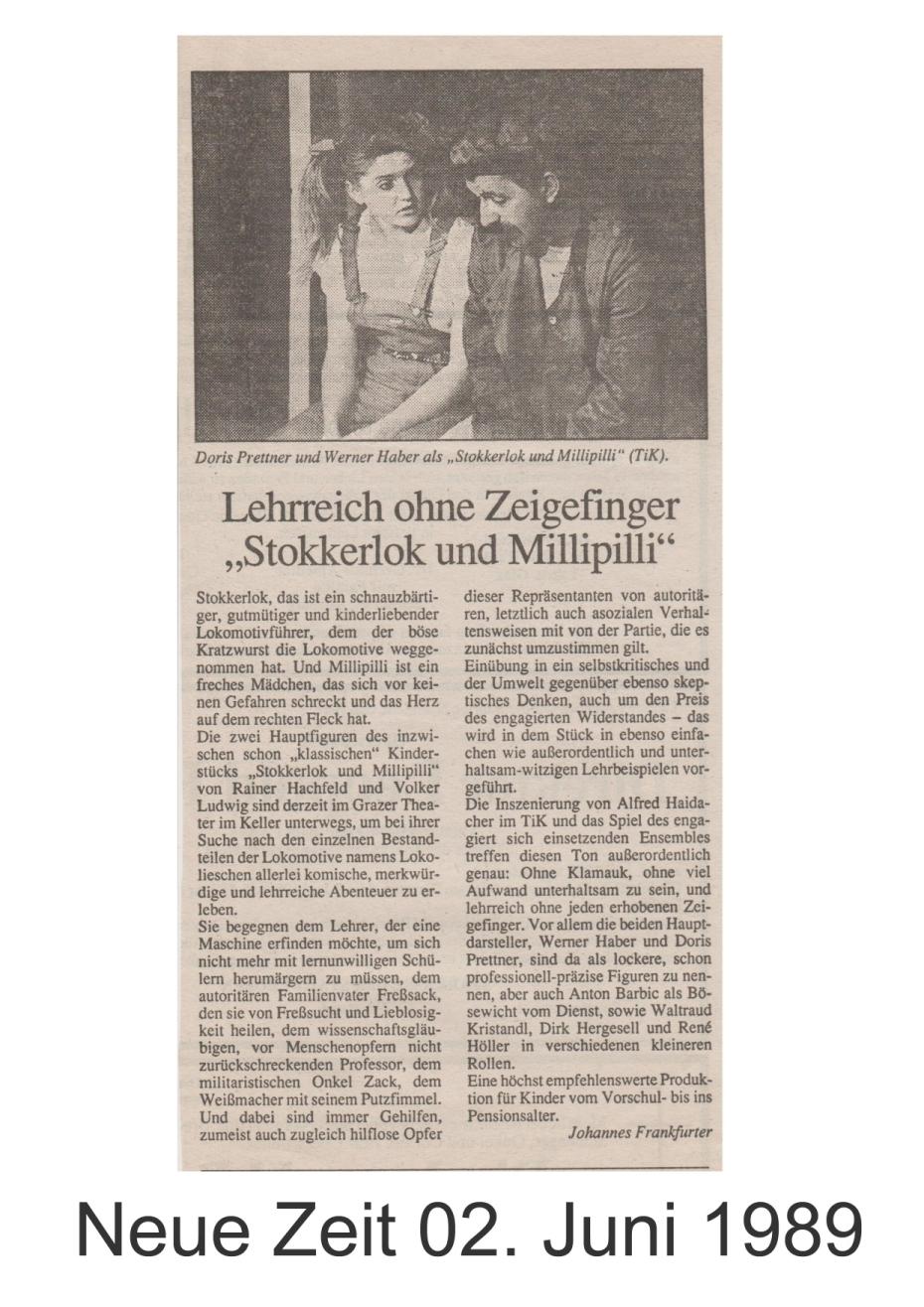 Stokkerlok und Millipilli 1989