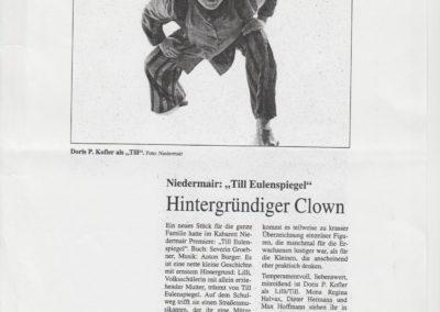 Till Eulenspiegel 2000 Zeitung