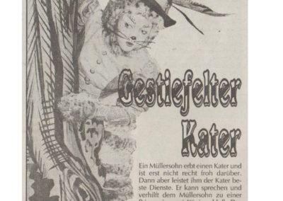 Der gestiefelte Kater 1991