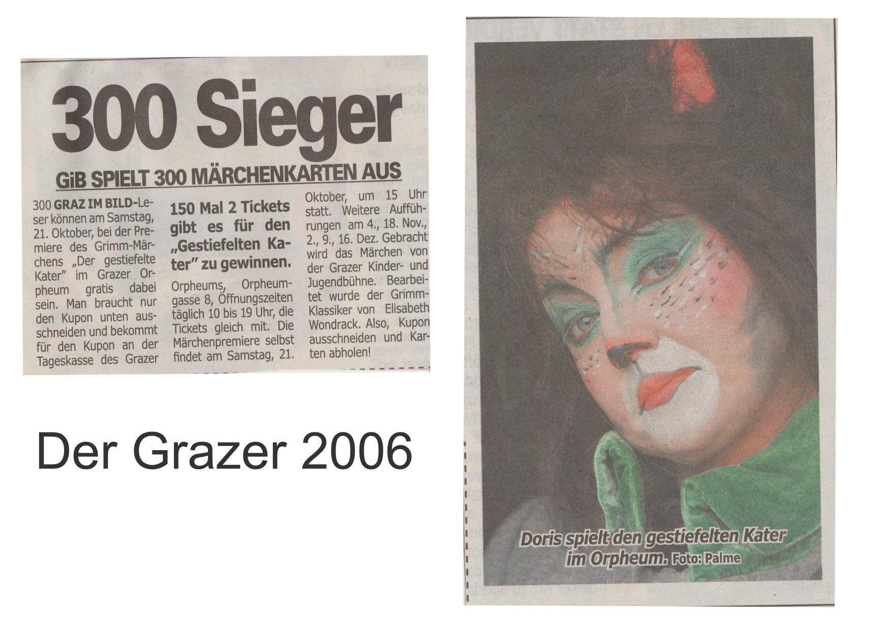Der gestiefelte Kater 2006