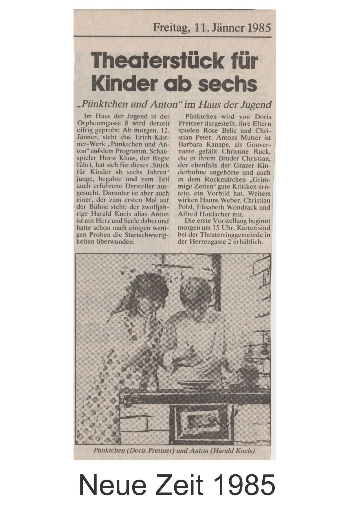 Pünktchen und Anton 1985