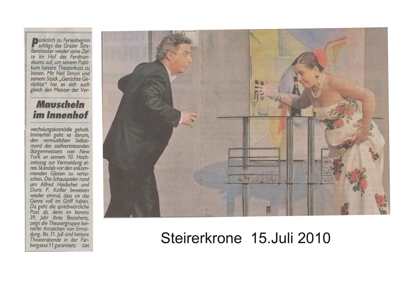 Gerüchte Gerüchte 2010 Zeitung