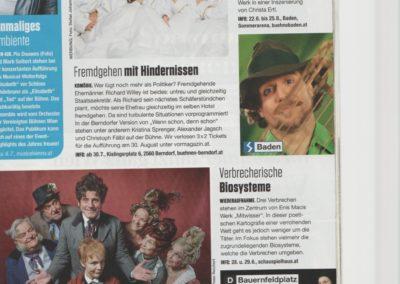 Wenn schon denn schon  - Berndorf - Zeitung 1