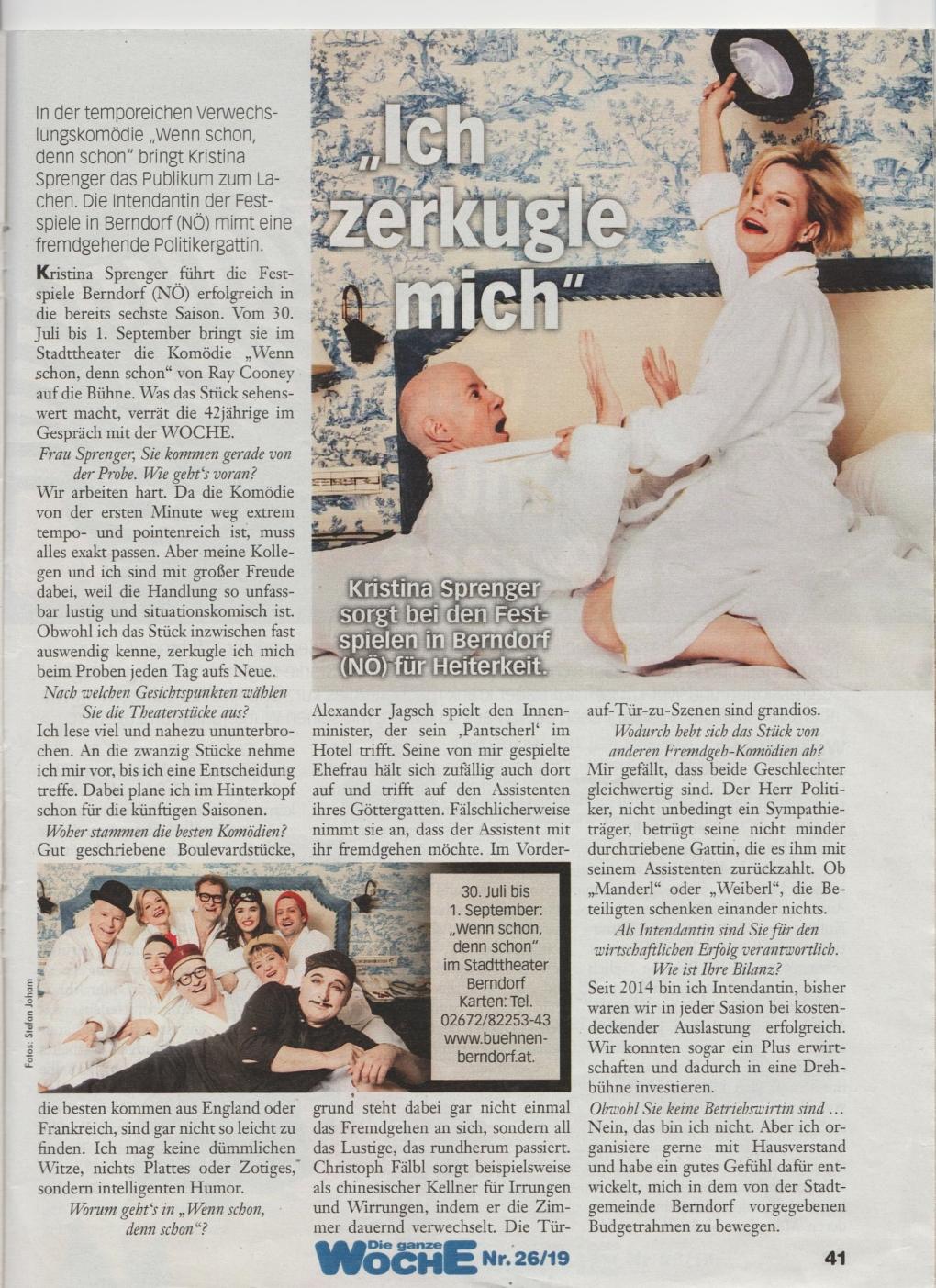 Wenn schon denn schon  - Berndorf - Zeitung 3
