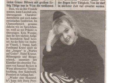 Portrait April 2001